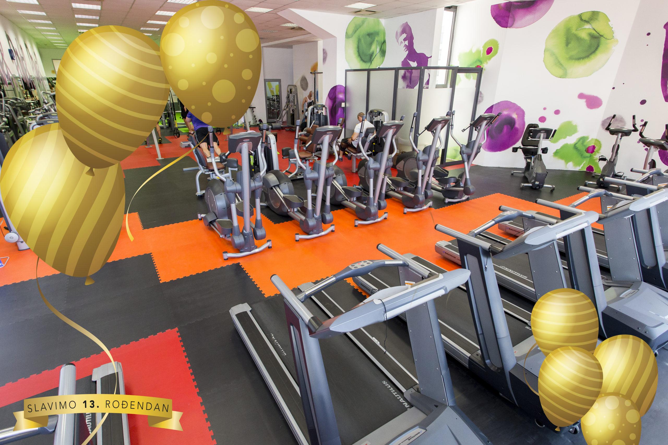 Želite vežbati besplatno celo leto? Može!